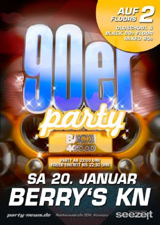 Back for Good! Die 90er Party