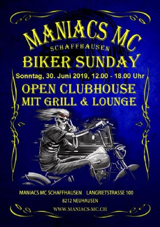 Bunker Party und Biker Sunday
