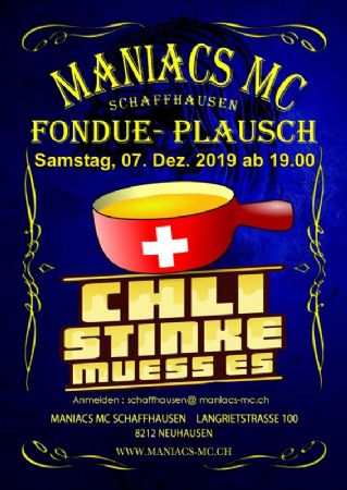 Bunker Party mit «Fondueplausch»