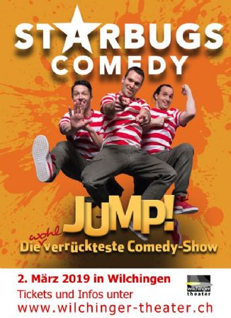 Starbugs Comedy – «Jump!»