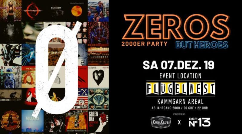 2000er Party — ZEROS BUT HEROES