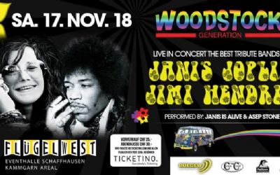Woodstock Generation Live Concert - Tribute Band of JANIS & JIMI