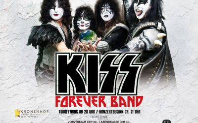 Kiss Forever Band - A Tribute to Kiss - TICKETS ZU GEWINNEN!
