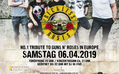 Reckless Roses - Tribute to Guns N Roses