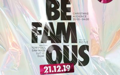 Be Famous - Christmas Audience - TICKETS ZU GEWINNEN!