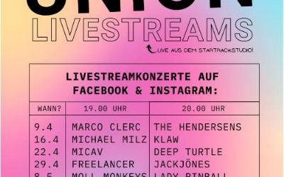 Band-Union Livestreams 3/5 - MiCaV & Deep Turtle