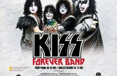 Kiss Forever Band – A Tribute to Kiss – TICKETS ZU GEWINNEN!